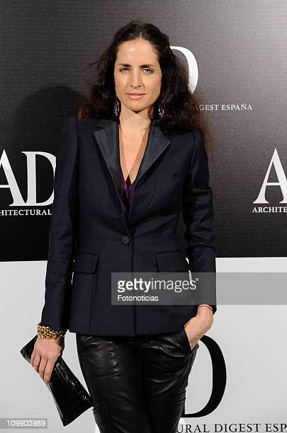 Carolina Adriana Herrera attends 'AD Arquitectural and Design Awards' 2011 at the Real Fabrica de Tapices on March 9 2011 in Madrid Spain