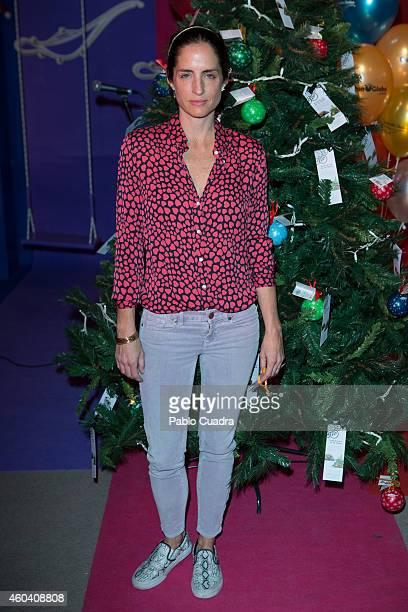 Carolina Adriana Herrera attends Aladina Foundation charity event at 'COAM' on December 13 2014 in Madrid Spain