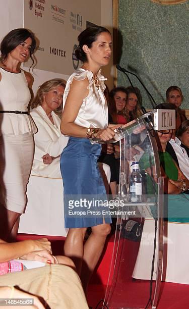 Carolina Adriana Herrera attends 'Telva Solidarity Awards' 2012 on June 18 2012 in Madrid Spain
