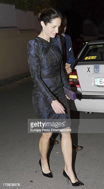 Carolina Adriana Herrera attends the 40th birthday of Beltran Gomez Acebo on May 31 2013 in Madrid Spain
