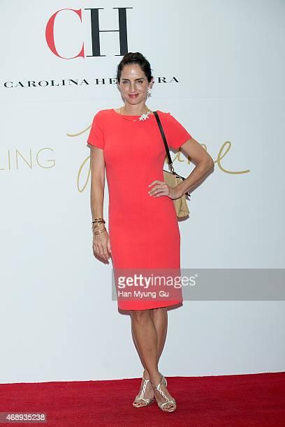 Carolina Adriana Herrera attends the photocall for CH 'Carolina Herrera' launch on April 8 2015 in Seoul South Korea