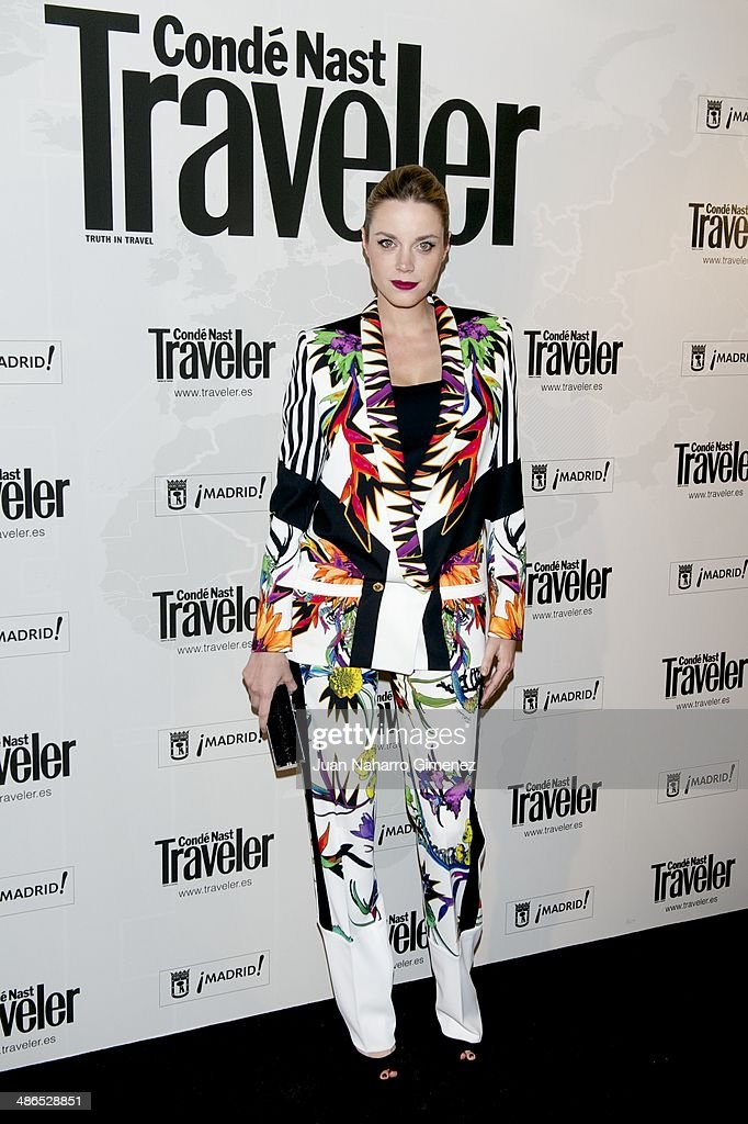 Carolina Bang attends the Conde Nast Traveler Awards 2014 at the Jardines de Cecilio Rodriguez on April 24, 2014 in Madrid, Spain.
