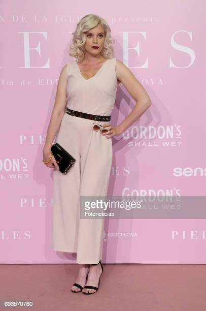 Carolina Bang attends the 'Pieles' premiere pink carpet at Capitol cinema on June 7 2017 in Madrid Spain