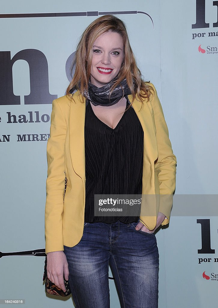 Carolina Bang attends the premiere of 'Lifting' at the Infanta Isabel theatre on March 21, 2013 in Madrid, Spain.