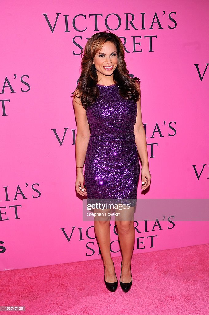 Carolina Bermudez attends the 2012 Victoria's Secret Fashion Show at the Lexington Avenue Armory on November 7, 2012 in New York City.