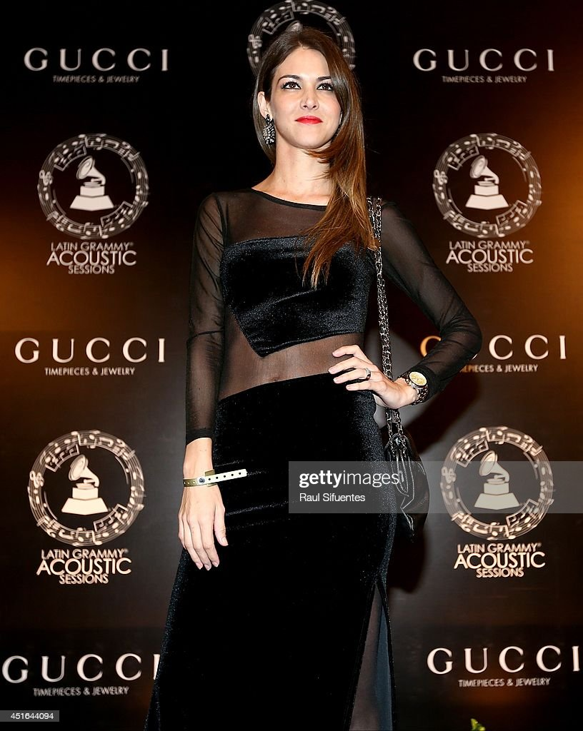 Carolina Cano attends the Latin GRAMMY Acoustic Session at Museo Pedro de Osma on July 2, 2014 in Lima, Peru.
