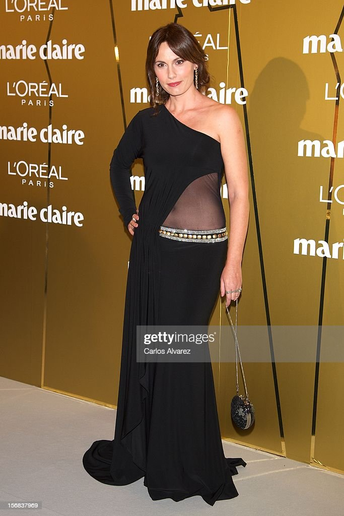 Carolina Casado attends Marie Claire Prix de la Moda Awards 2012 at the French Embassy on November 22, 2012 in Madrid, Spain.
