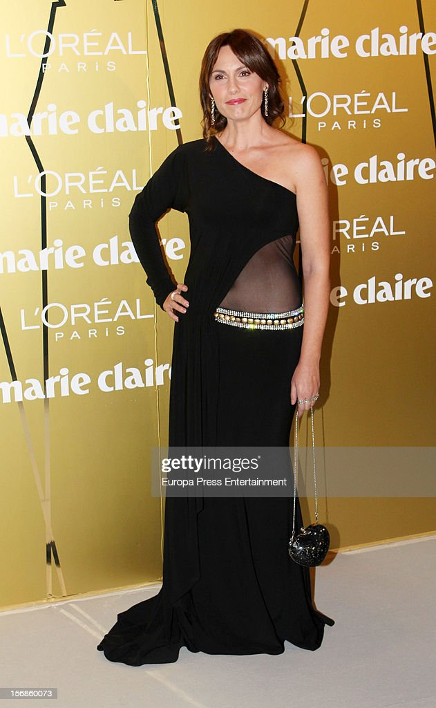 Carolina Casado attends Marie Claire Prix de la Moda Awards 2012 on November 22, 2012 in Madrid, Spain.
