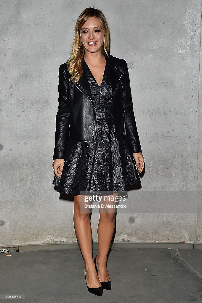 Carolina Crescentini attends a screening of '2 Di Noi' during the 10th Rome Film Fest at Maxxi on October 17 2015 in Rome Italy