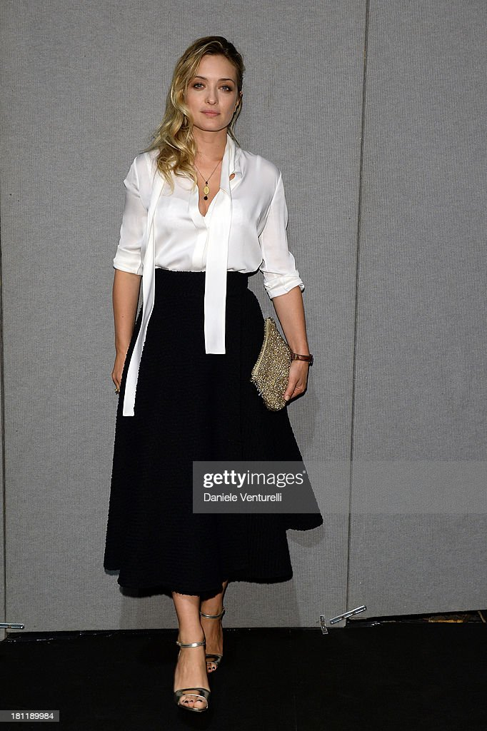 <a gi-track='captionPersonalityLinkClicked' href=/galleries/search?phrase=Carolina+Crescentini&family=editorial&specificpeople=4123553 ng-click='$event.stopPropagation()'>Carolina Crescentini</a> attends Anteprima Event during the Milan Fashion Week Womenswear Spring/Summer 2014 on September 19, 2013 in Milan, Italy.