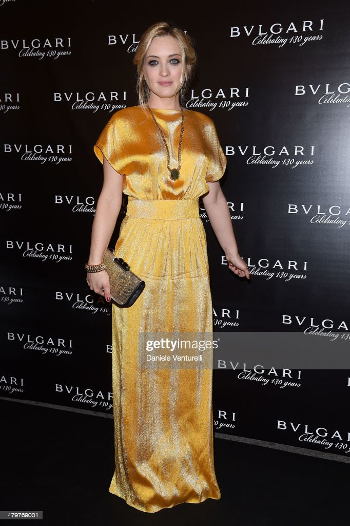 <a gi-track='captionPersonalityLinkClicked' href=/galleries/search?phrase=Carolina+Crescentini&family=editorial&specificpeople=4123553 ng-click='$event.stopPropagation()'>Carolina Crescentini</a> attends 'Bvlgari Celebrates 130 Years In Rome' at Via Condotti on March 20, 2014 in Rome, Italy.