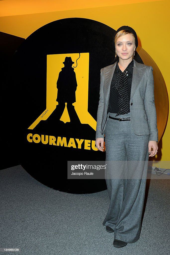 Carolina Crescentini attends day 1 of 2011 Courmayeur Noir In Festival on December 5 2011 in Courmayeur Italy