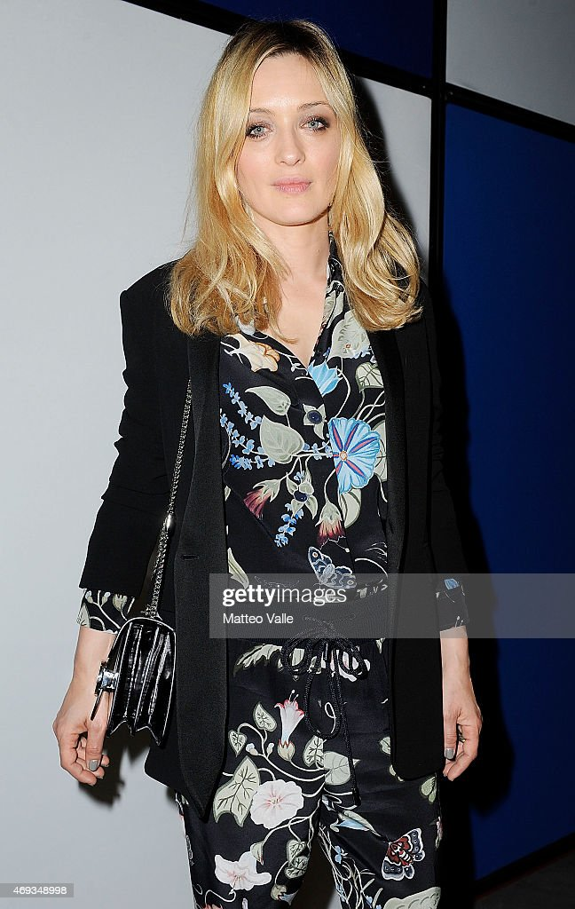 Carolina Crescentini attends the 'I'm Art' Cocktail at Miart 2015 on April 11 2015 in Milan Italy