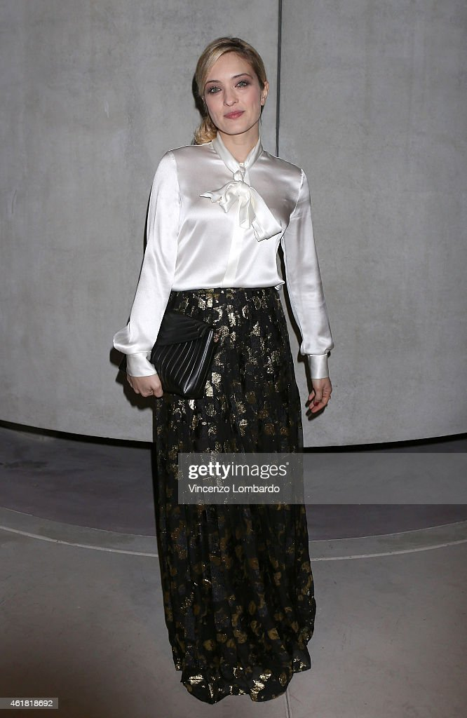 Carolina Crescentini attends the MAX E HELENE TV Movie Press Conference on January 20 2015 in Milan Italy