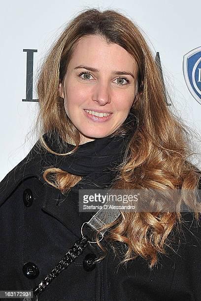 Carolina Di Domenico attends 'Amiche da Morire' Red Carpet on March 5 2013 in Milan Italy