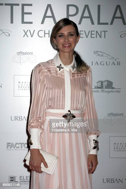 Carolina Di Domenico attends Anlaids Gala at Palazzo Doria Pamphilj on June 8 2017 in Rome Italy