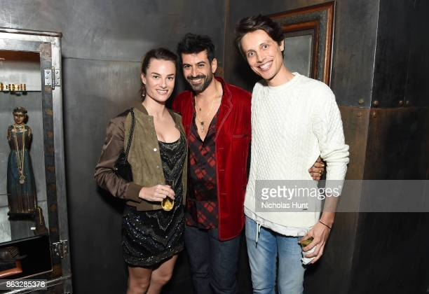 Carolina Fontaneti Eli Halili and guest attend A Night With Eli Halili on October 19 2017 in New York City