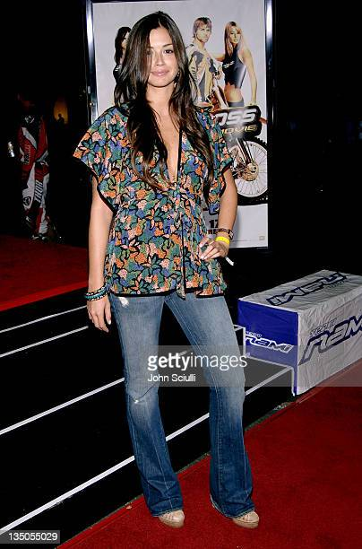 Carolina Garcia during 'Supercross' Los Angeles Premiere Red Carpet at Veterans Administration Complex in Westwood California United States