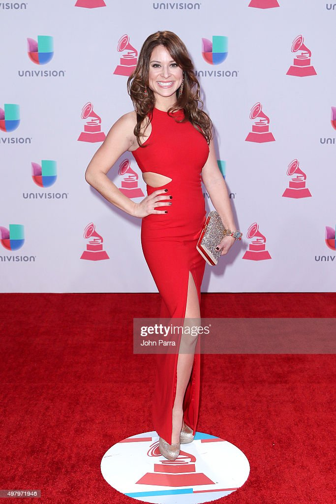 Carolina Gutierrez attends the 16th Latin GRAMMY Awards at the MGM Grand Garden Arena on November 19, 2015 in Las Vegas, Nevada.
