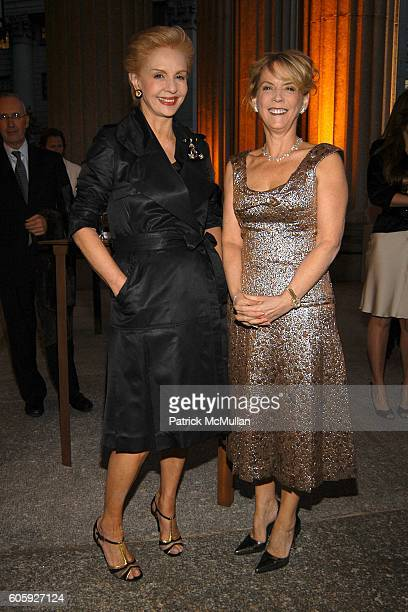 Carolina Herrera and Carol Hamilton attend VANITY FAIR Tribeca Film Festival Party hosted by Graydon Carter and Robert DeNiro at The State Supreme...