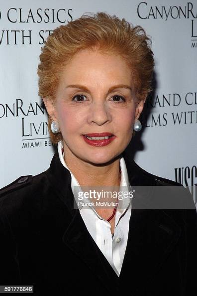 Carolina Herrera attends Grand Classics Films With Style hosted by Carolina Herrera and sponsored by WSG/Canyon Ranch Living and Harry Winston at...