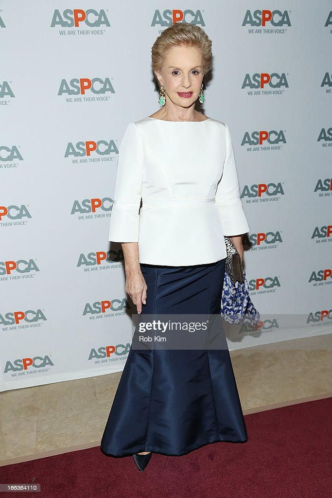 <a gi-track='captionPersonalityLinkClicked' href=/galleries/search?phrase=Carolina+Herrera+-+Fashion+Designer&family=editorial&specificpeople=4205481 ng-click='$event.stopPropagation()'>Carolina Herrera</a> attends the 16th Annual ASPCA Bergh Ball at The Plaza Hotel - 5th Avenue on April 11, 2013 in New York City.