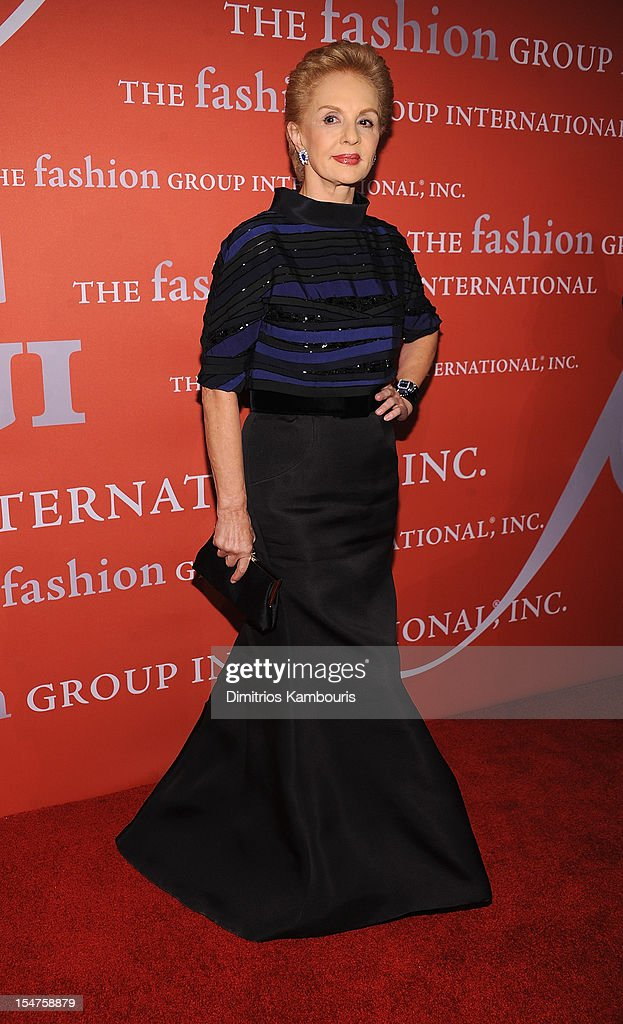 <a gi-track='captionPersonalityLinkClicked' href=/galleries/search?phrase=Carolina+Herrera+-+Fashion+Designer&family=editorial&specificpeople=4205481 ng-click='$event.stopPropagation()'>Carolina Herrera</a> attends the 29th Annual Fashion Group International Night Of Stars at Cipriani Wall Street on October 25, 2012 in New York City.