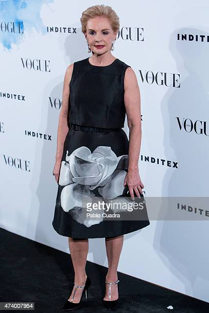 Carolina Herrera attends the 'Vogue Who's On Next' party at the Duarte Pinto Coelho Palace on May 19 2015 in Madrid Spain
