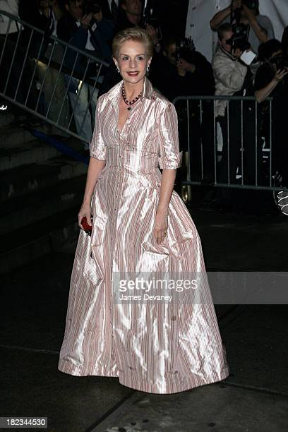 Carolina Herrera during 2004 Costume Institute Gala Dangerous Liaisons Arrivals at Metropolitan Museum of Art in New York City New York United States