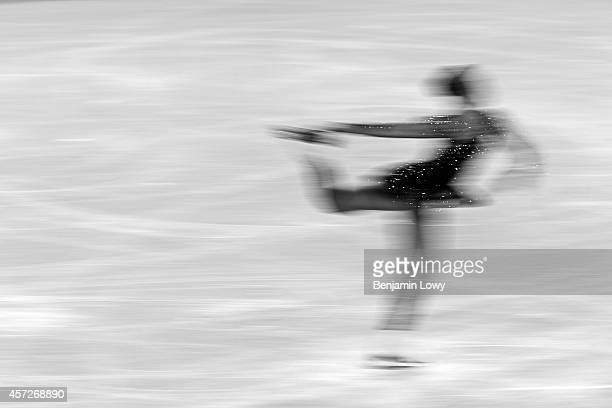 Carolina Kostner of Italy competes in the Figure Skating Ladies' Free Skating on day 13 of the Sochi 2014 Winter Olympics at Iceberg Skating Palace...