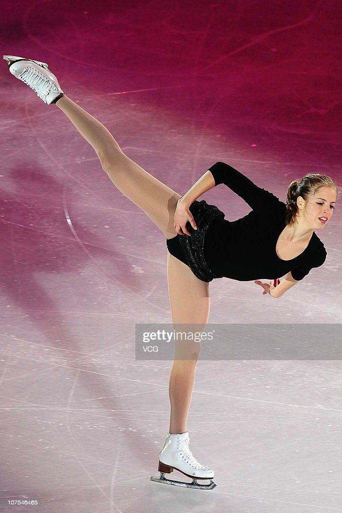 <a gi-track='captionPersonalityLinkClicked' href=/galleries/search?phrase=Carolina+Kostner&family=editorial&specificpeople=729836 ng-click='$event.stopPropagation()'>Carolina Kostner</a> of Italy performs during ISU Grand Prix and Junior Grand Prix Final at Beijing Capital Gymnasium on December 12, 2010 in Beijing, China.