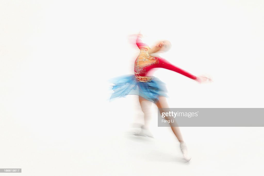 <a gi-track='captionPersonalityLinkClicked' href=/galleries/search?phrase=Carolina+Kostner&family=editorial&specificpeople=729836 ng-click='$event.stopPropagation()'>Carolina Kostner</a> of Italy skates in the Ladies Free Skating during Lexus Cup of China ISU Grand Prix of Figure Skating 2013 at Beijing Capital Gymnasium on November 2, 2013 in Beijing, China.