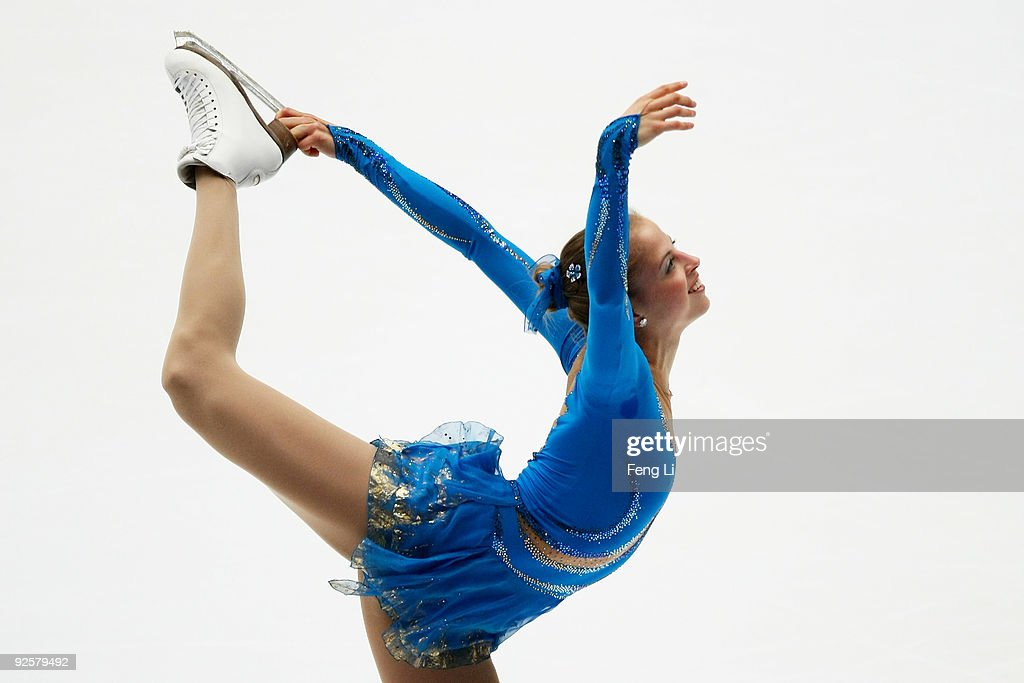 <a gi-track='captionPersonalityLinkClicked' href=/galleries/search?phrase=Carolina+Kostner&family=editorial&specificpeople=729836 ng-click='$event.stopPropagation()'>Carolina Kostner</a> of Italy skates in the Ladies Free Skating during the Cup of China ISU Grand Prix of Figure Skating 2009 at Beijing Capital Gymnasium on October 31, 2009 in Beijing, China. 2009/2010 ISU Grand Prix of Figure Skating continues with the Samsung Anycall Cup of China in Beijing from October 30 to November 1.