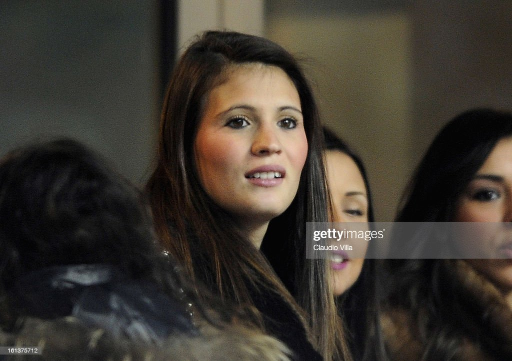 Carolina Marcialis looks on during the Serie A match between FC Internazionale Milano and AC Chievo Verona at San Siro Stadium on February 10, 2013 in Milan, Italy.