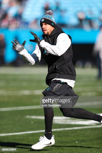Carolina Panthers free safety Kurt Coleman during pregame action on December 20 2017 between the Minnesota Vikings and the Carolina Panthers at Bank...