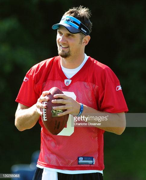 Derek Anderson American Football Player Stock Photos And