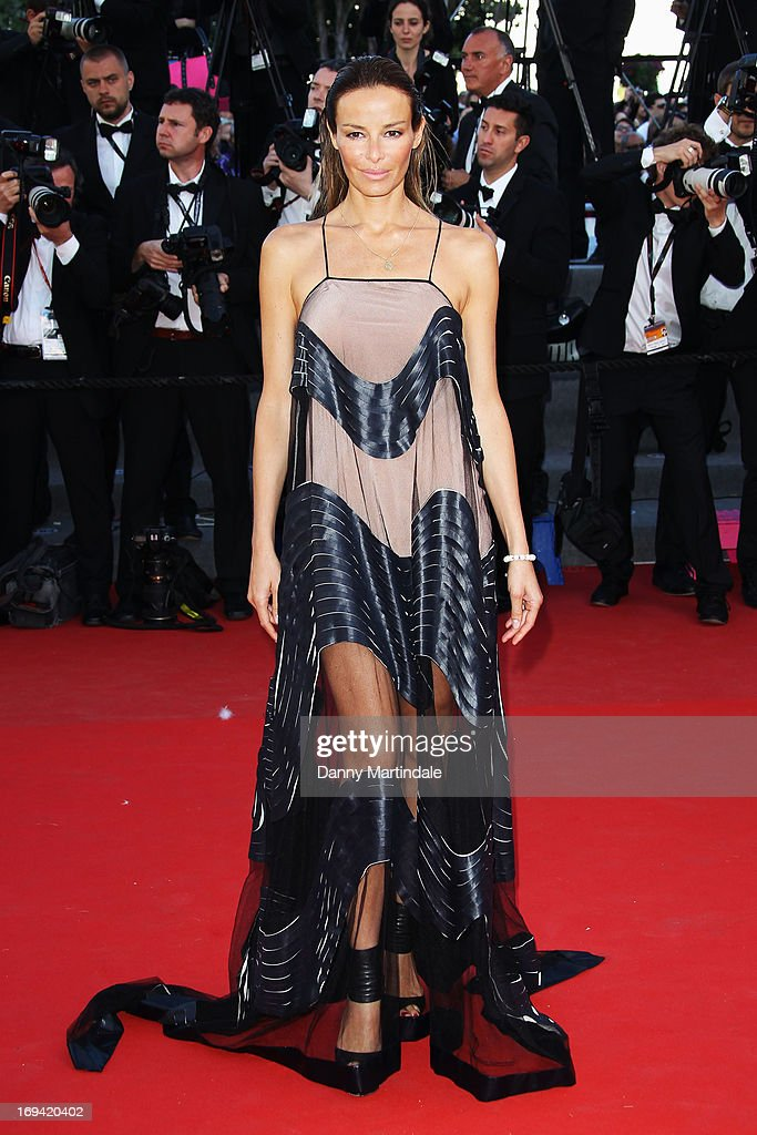 Carolina Parsons attends the Premiere of 'The Immigrant' at The 66th Annual Cannes Film Festival at Palais des Festivals on May 24, 2013 in Cannes, France.