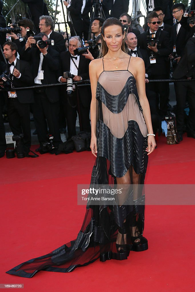 Carolina Parsons attends the premiere of 'The Immigrant' at The 66th Annual Cannes Film Festival on May 24, 2013 in Cannes, France.