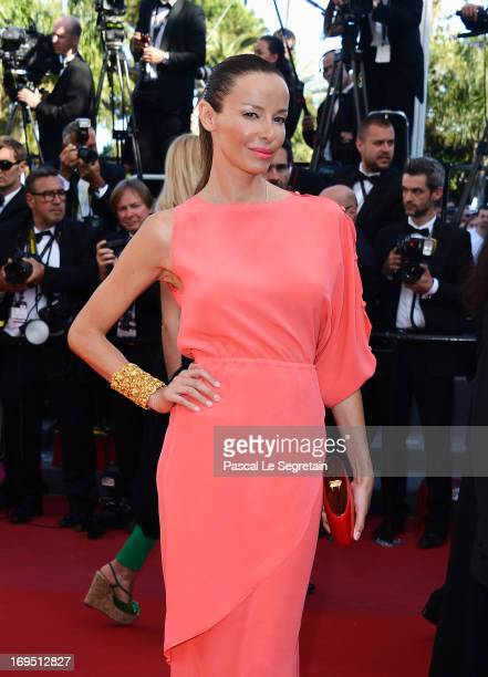 Carolina Parsons attends the 'Zulu' Premiere and Closing Ceremony during the 66th Annual Cannes Film Festival at the Palais des Festivals on May 26...