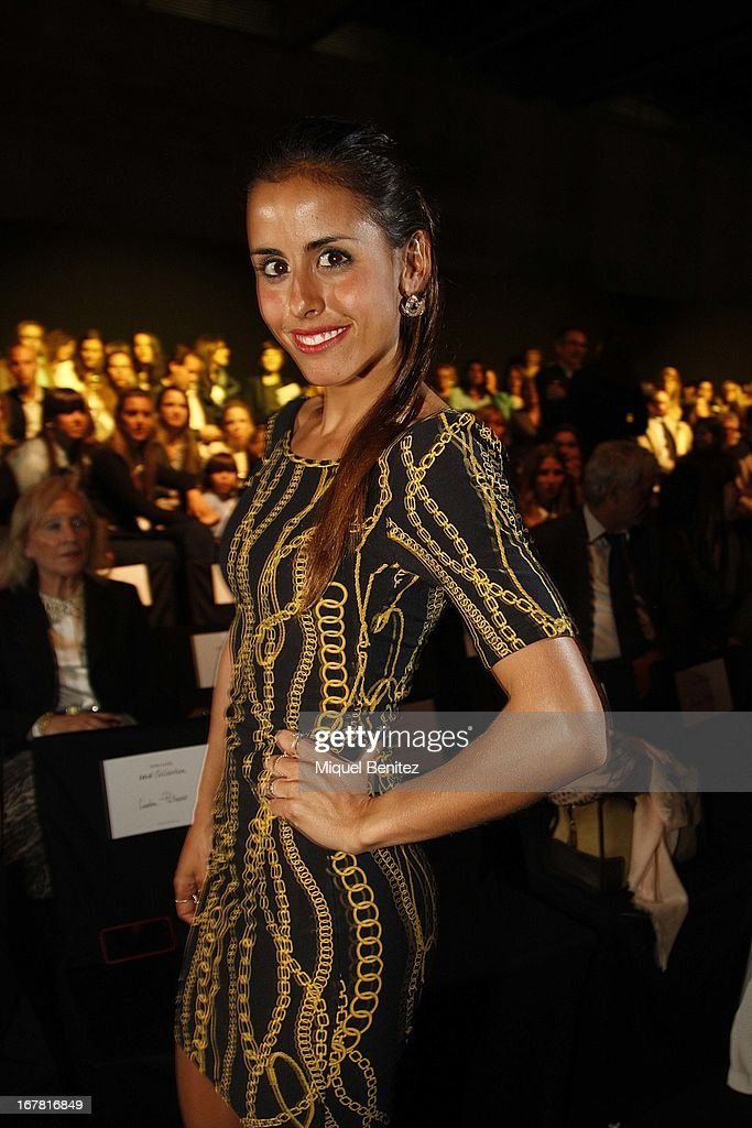 Carolina Patrocinio attends the Rosa Clara collection during the Barcelona Bridal Week 2013 on April 30, 2013 in Barcelona, Spain.