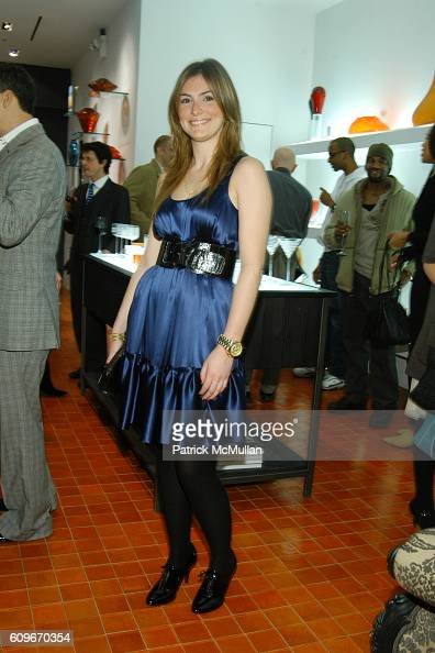 Carolina Rodriguez attends NEW YORKERS FOR CHILDREN SALVIATI CHARITY BENEFIT at Salviati on December 13 2007 in New York City