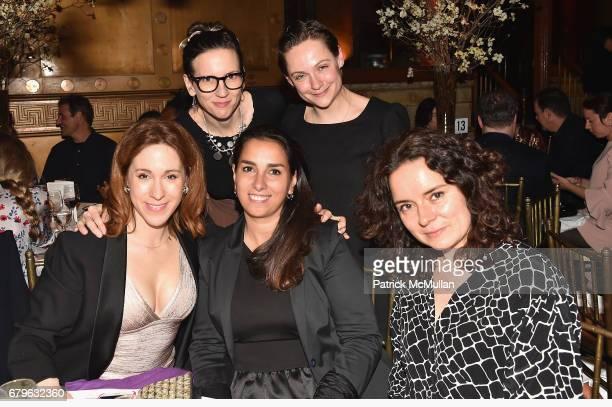 Carolina Sandretto Kiera Alexandra Laura Bardier Dasha Shishkin and Vera Illiatova attend BOMB's 36th Anniversary Gala Art Auction at Capitale on May...