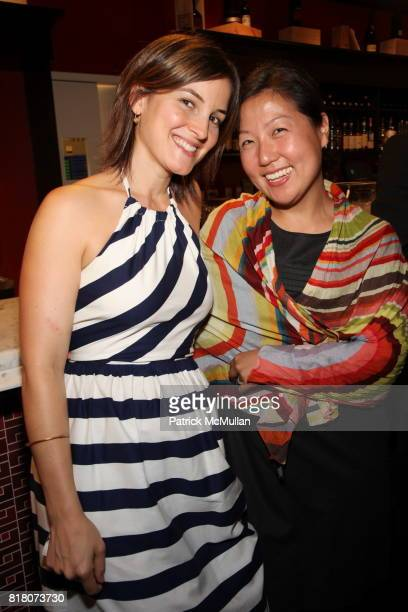 Carolina SantosNeves and Esther Sung attend Epicurious 15th Anniversary Dinner at Eataly on September 29 2010 in New York