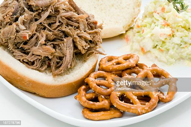 Carolina Style BBQ Pork Sandwich