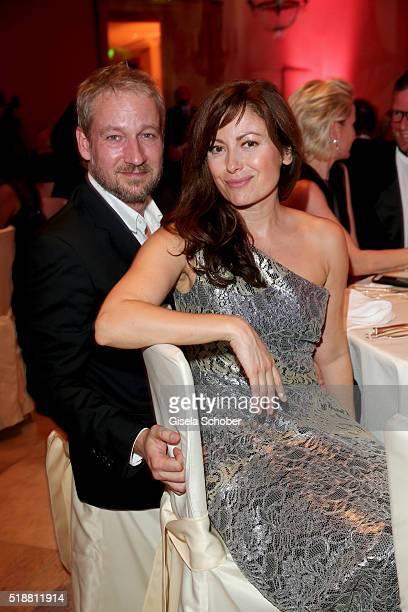 Carolina Vera and her boyfriend Tobias Klucker during the Gala Spa Awards on April 2 2016 in BadenBaden Germany