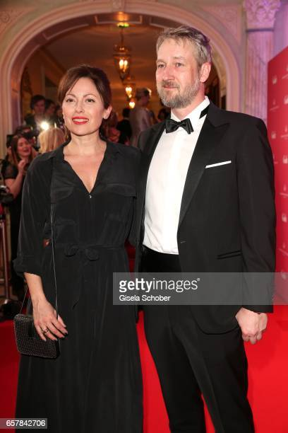 Carolina Vera and her boyfriend Tobias Kluckert during the Gala Spa Awards at Brenners ParkHotel Spa on March 25 2017 in BadenBaden Germany