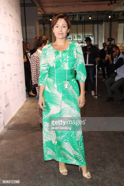 Carolina Vera attends the Laurel show during the MercedesBenz Fashion Week Berlin Spring/Summer 2018 at Kaufhaus Jandorf on July 4 2017 in Berlin...