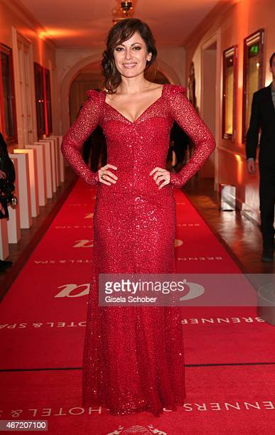 Carolina Vera during the Gala Spa Awards 2015 at Brenners ParkHotel Spa on March 21 2015 in BadenBaden Germany