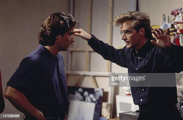 CITY 'Caroline and the Opera' Episode 7 Aired 11/9/95 Pictured Eric Lutes as Del Cassidy Malcolm Gets as Richard Karinsky Photo by Mike Ansell/NBCU...