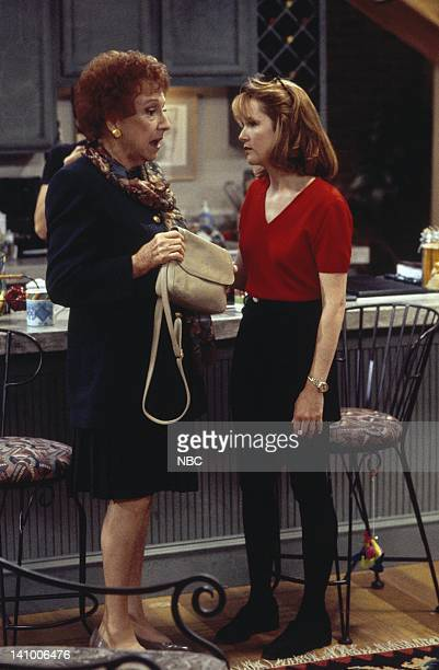 CITY 'Caroline and the Opera' Episode 7 Aired 11/9/95 Pictured Jean Stapleton as Aunt Mary Kosky Lea Thompson as Caroline Duffy Photo by Mike...